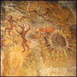 Необычные рисунки на скалах и в пещерах от плато Чатыр-дага до Мангупа