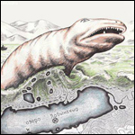 Остатки чудовища в озере Лабынкыр