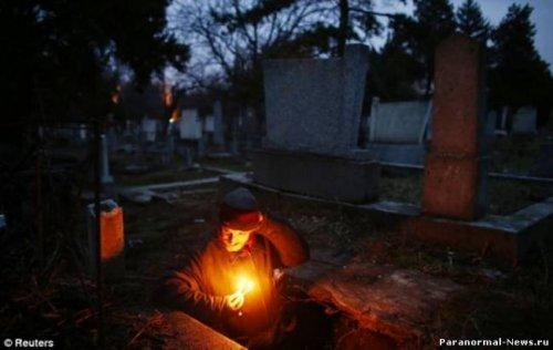 15 лет жизни на кладбище