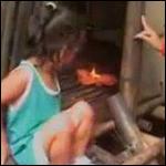 5-летняя девочка способна на расстоянии поджигать различные вещи