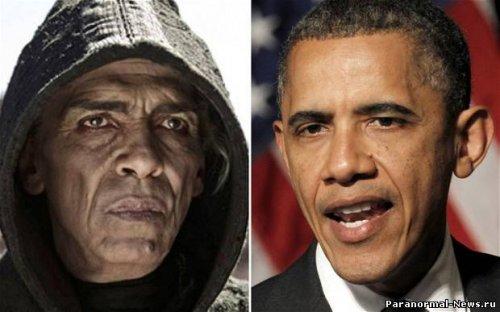 Сатану срисовали с Обамы?