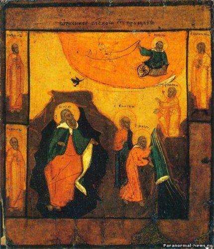 Огненная колесница пророка Ильи