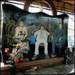 В Тольятти на кладбище видят призрак убитого бандита