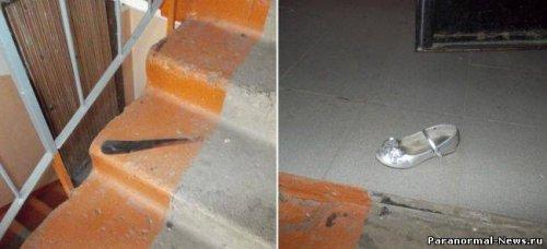 Вспышка полтергейста в Иркутске