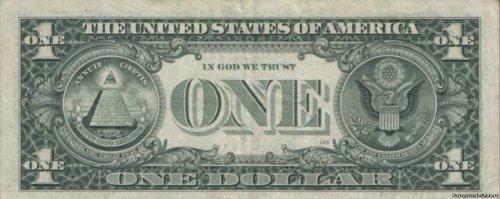 Тайные символы доллара