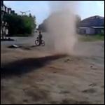 По Копейску пронесся песчаный торнадо