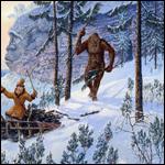 Йети- человекообразный зверь или звероподобный человек?