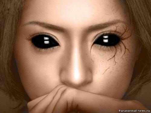 Современная городская легенда: Дети с чёрными глазами