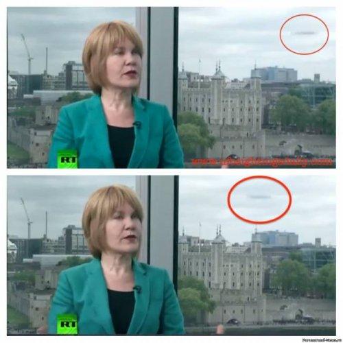 НЛО попал в репортаж канала Russia Today