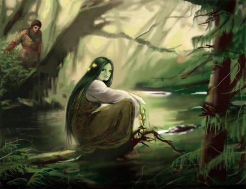 Духи стихий рядом с нами
