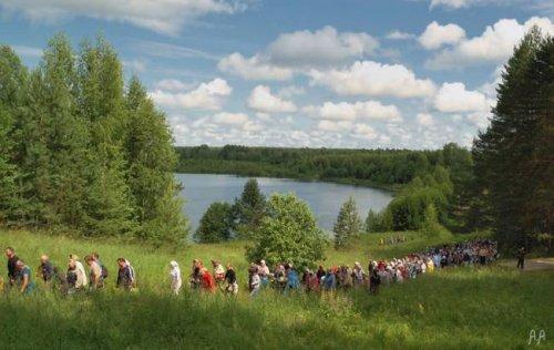 Озеро Светлояр снова заставляет говорить о мистике