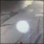 В Нижнем Новгороде на камеру засняли блуждающий белый шар