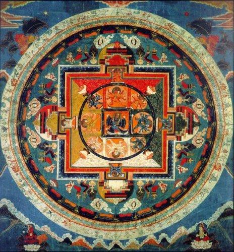 Мандала - Рисунок Вселенной