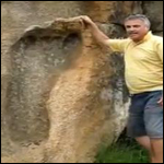 В Южной Африке нашли отпечаток гигантской ноги