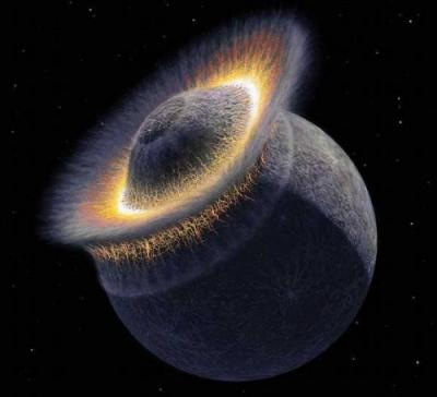 Луна помолодела на сто миллионов лет