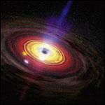 Найдены следы вспышки сверхмассивной черной дыры в центре Млечного пути