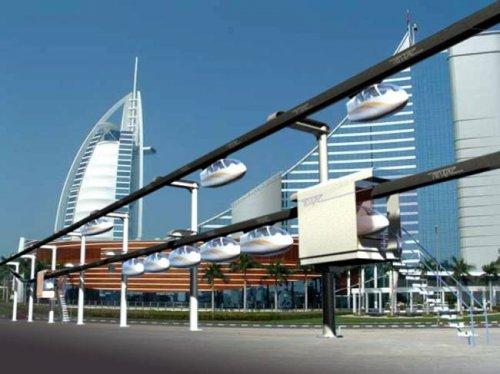 Тель-Авив может стать первым городом, в котором построят футуристическую транспортную систему SkyTran