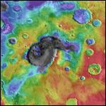 На Марсе нашли супервулканы