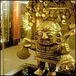 Сокровища инков нашли на дне озера