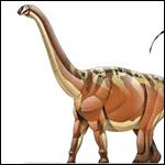 Палеонтологи реконструировали походку крупнейшего динозавра
