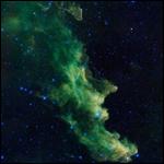 Опубликована фотография туманности Ведьмина голова