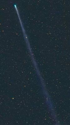 ISON: ядро кометы, кажется, разделилось на части, и у нее также возник гигантский хвост