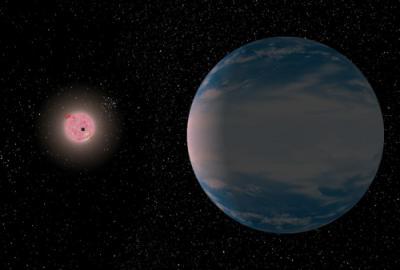 Избыток воды может угрожать жизни на землеподобных экзопланетах