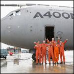 Первый транспортник A400M отправился на длительное хранение