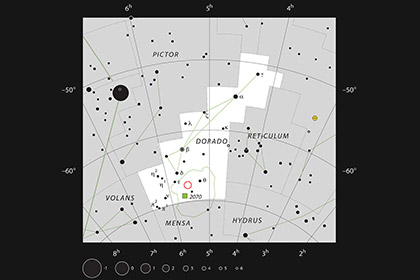 Очень большой телескоп сфотографировал Драконью голову