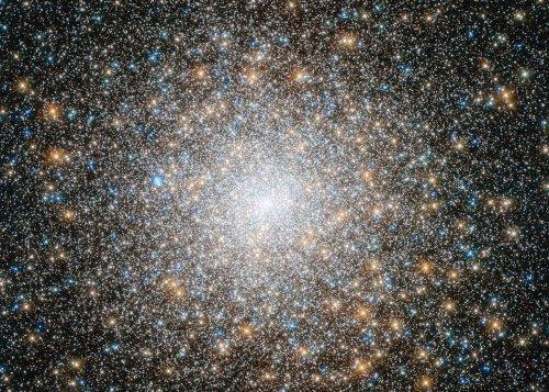 «Хаббл» сфотографировал пожилое шаровое скопление