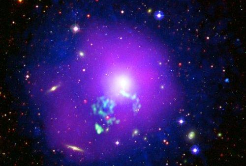 Рентгеновский телескоп сфотографировал галактическое скопление в Деве