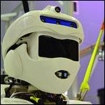 Американцы показали прототип военного человекоподобного робота