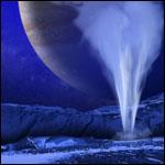 На Европе нашли гигантские полярные гейзеры