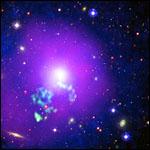 Галактические скопления помешали теории дырявой Вселенной