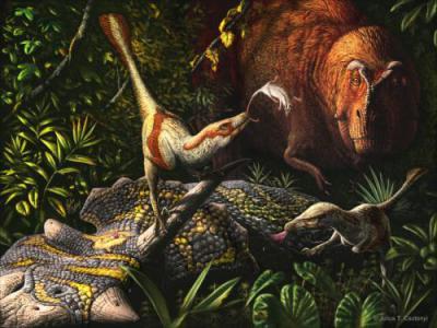 Обнаружен новый вид хищных динозавров