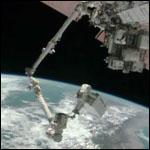 Астронавты починили систему охлаждения МКС