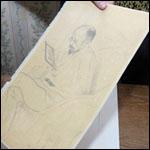 Утерянный в 1990-х рисунок Бориса Кустодиева вернули в музей