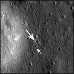 Китайский луноход сфотографировали с орбиты