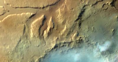 Новые фотографии облаков на Марсе