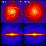 Найдены следы столкновения Млечного пути с другими галактиками