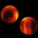 Астрономы впервые рассмотрели облачные узоры на коричневом карлике