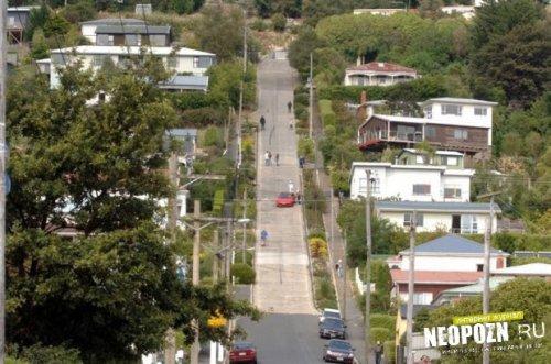 Самая крутая городская улица в мире
