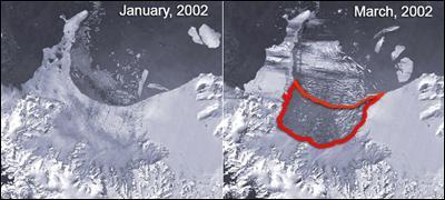 Шельфовые ледники находятся под угрозой исчезновения