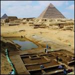Около пирамид в Египте найден порт