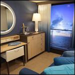 Пассажирам круизного лайнера предложили «виртуальные балконы»