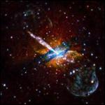 Опубликован новый рентгеновский снимок галактики Центавр А