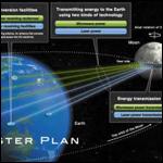 Япония планирует построить кольцо солнечных панелей вдоль лунного экватора для передачи энергии на Землю