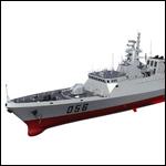 Китай спроектировал фрегат нового поколения