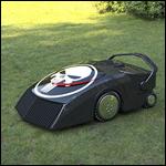 Американцы создали питающегося травой робота-газонокосилку
