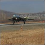 ВВС России получили первый истребитель Т-50